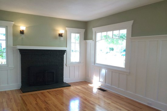 Before image of a home staged in the Midtown area of Santa Cruz