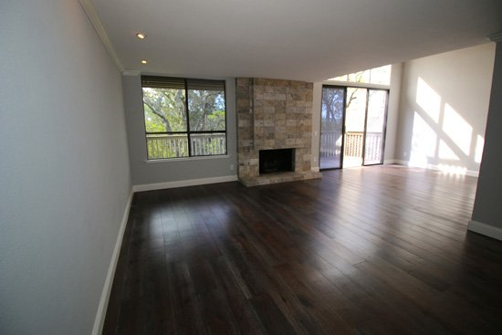 Before image of a home staged in Los Gatos
