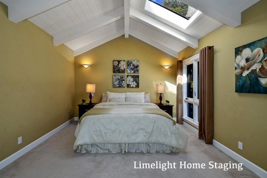 After image of a home staged in the Westside of Santa Cruz
